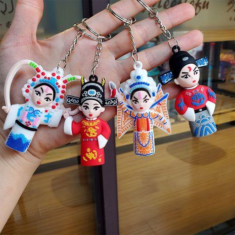 Peking opera doll keychain  NHDI275822's discount tags