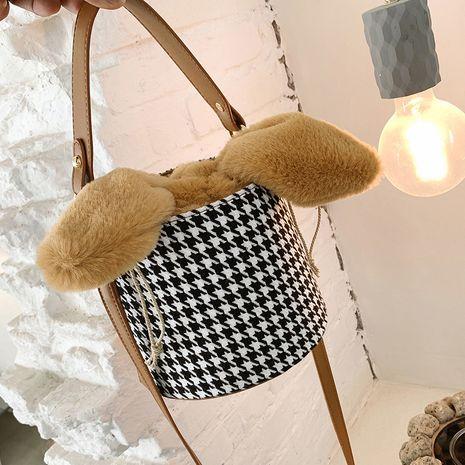 nuevo bolso de cubo casual de moda de moda NHJZ276729's discount tags