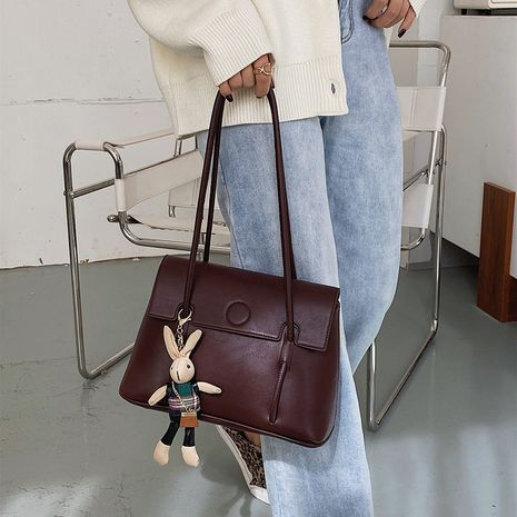 Fashion  new wave  wild simple single shoulder bag rabbit  bucket bag NHJZ276745's discount tags