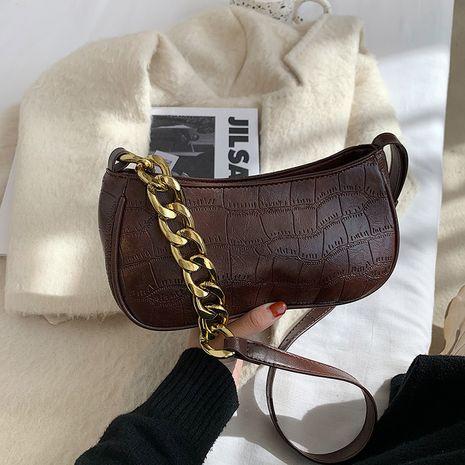 Nuevo bolso de mensajero de hombro de grano de piedra de moda NHJZ276769's discount tags