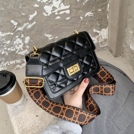 Fashion  new trendy texture one-shoulder messenger bag NHJZ276786's discount tags