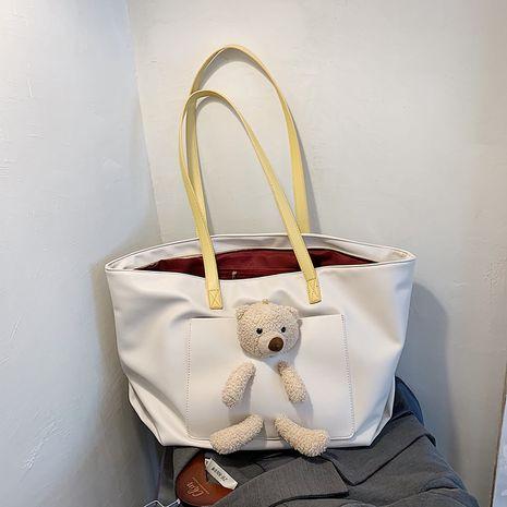 new trendy wild fashion single cute bear shoulder bag  NHJZ276792's discount tags