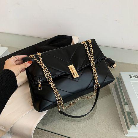 nouveau sac simple à serrure à une épaule NHJZ276796's discount tags