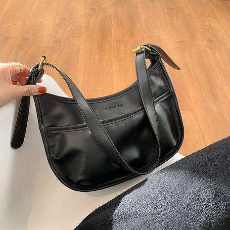 nouveau sac à bandoulière de grande capacité à texture tendance NHJZ276798's discount tags