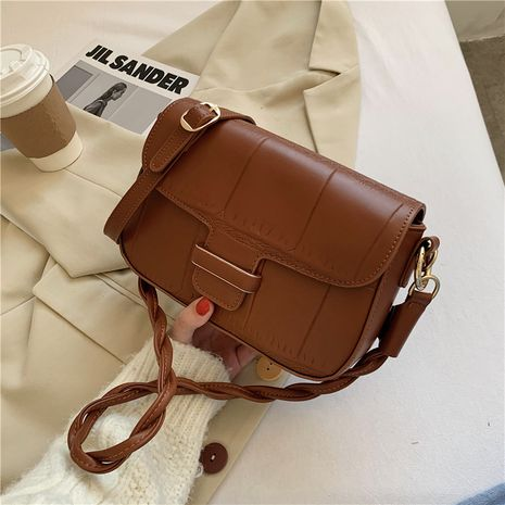 Fashion  new  korean  shoulder strap one shoulder messenger bag NHJZ276808's discount tags