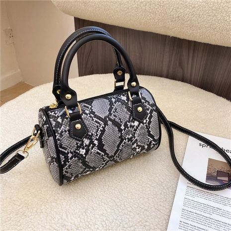 new  retro snakeskin pattern shoulder bag  NHJZ276815's discount tags