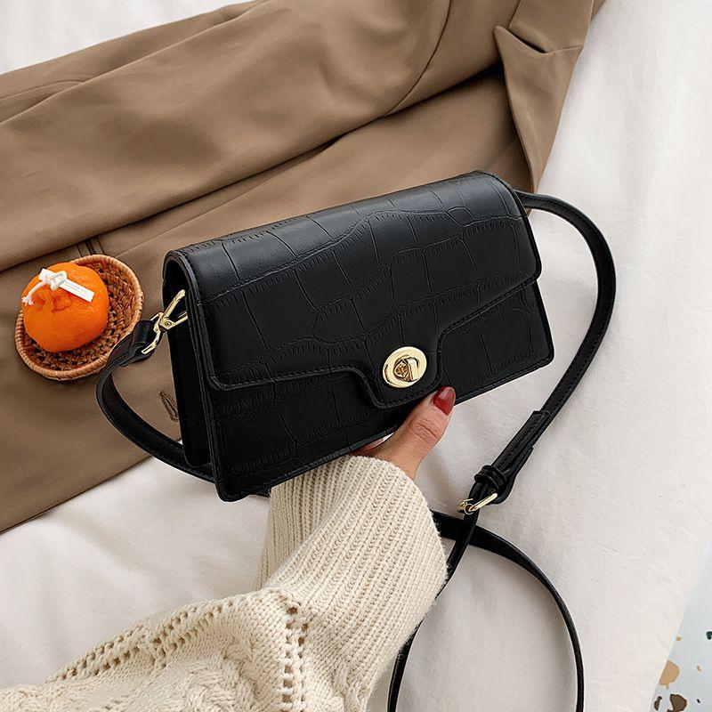new wave fashion allmatch thin shoulder strap messenger bag  NHJZ276817