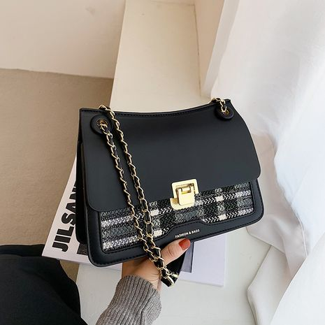 Fashion  new trendy texture chain one shoulder messenger bag  NHJZ276830's discount tags