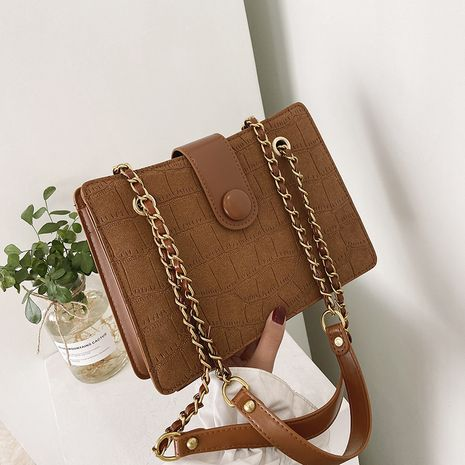 Fashion new texture chain one-shoulder oblique bag  NHJZ276848's discount tags