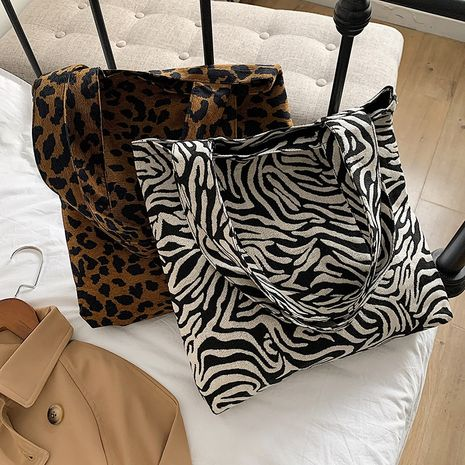 nueva moda coreana casual estampado de leopardo estilo occidental bolso de mano NHRU276852's discount tags