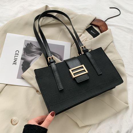 Korean women's bag fashion handbag underarm casual small square bag NHRU276865's discount tags