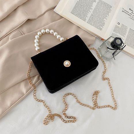 fashion shoulder bag Korean small square bag NHRU276870's discount tags