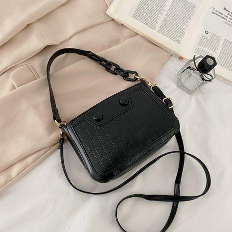 retro fashion chain messenger bag shoulder armpit bag NHRU276872's discount tags