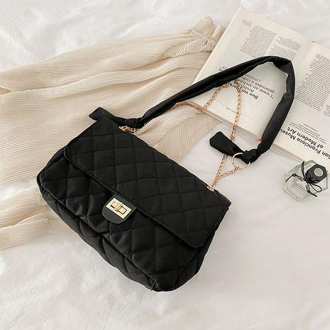 fashion rhombus chain shoulder bag women's messenger bag NHRU276873's discount tags