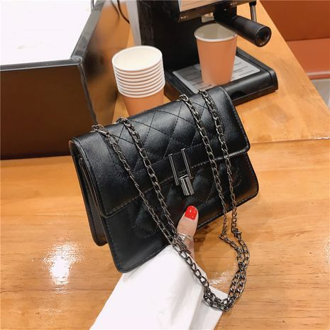 fashion women's chain messenger bag square bag NHRU276886's discount tags