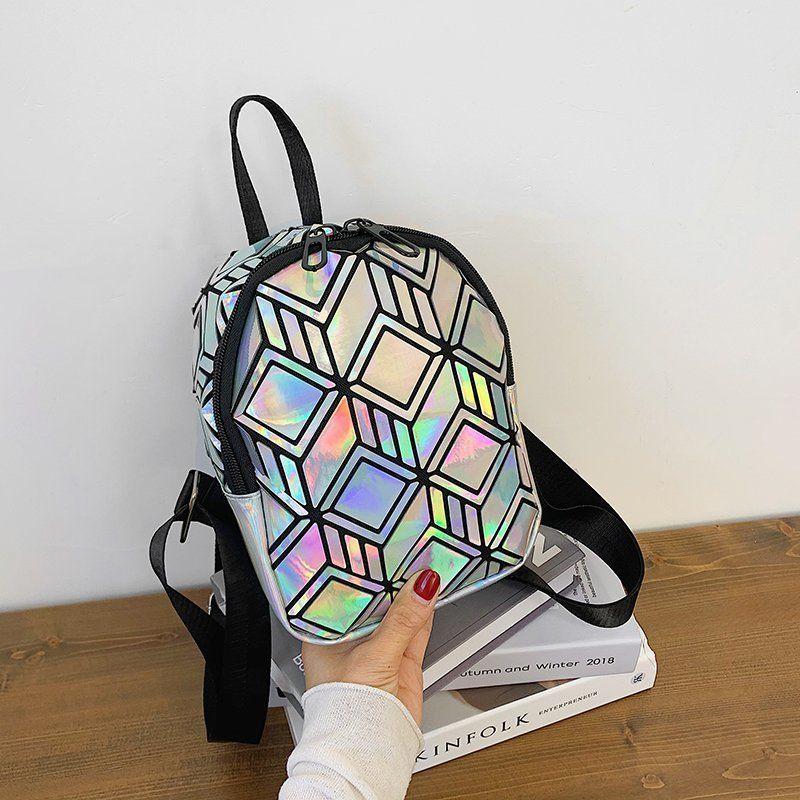 new color  geometric pattern casual backpack NHGA276891