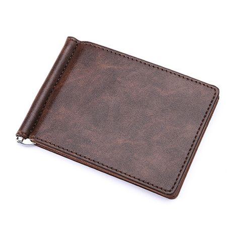 bolso de clip de metal simple cartera de cuero de pu NHBN276930's discount tags