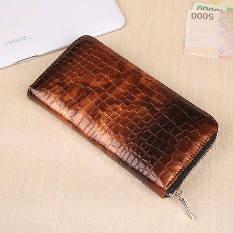Korean fashion clutch bag zipper wallet NHBN276932's discount tags