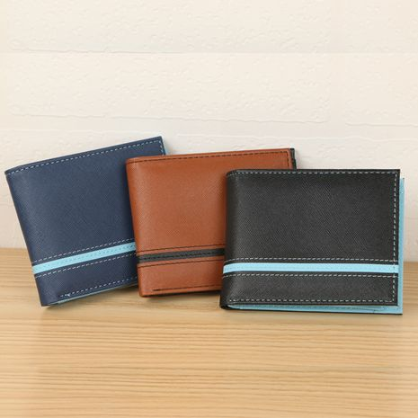 Korean fashion new simple wallet NHBN276933's discount tags