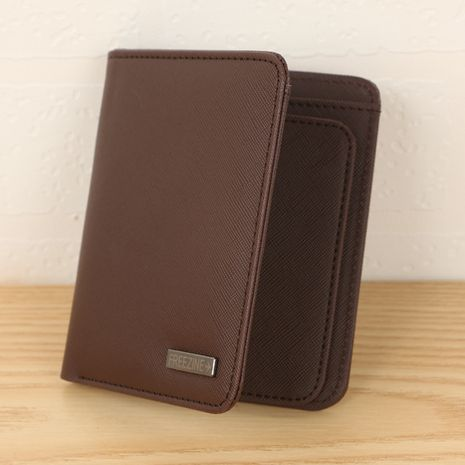 Korean fashion new simple wallet NHBN276936's discount tags