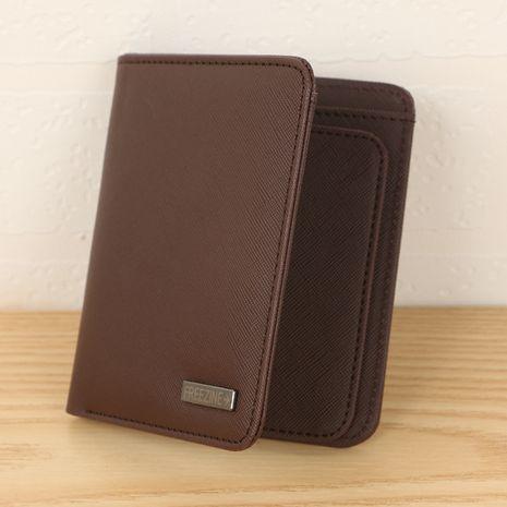 Moda coreana nueva billetera simple NHBN276936's discount tags