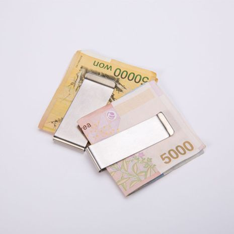 open metal sequin wallet stainless steel money clip paper money clip NHBN276938's discount tags