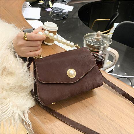 retro pearl portable nuevo simple bolso de mensajero de un solo hombro NHJZ277030's discount tags