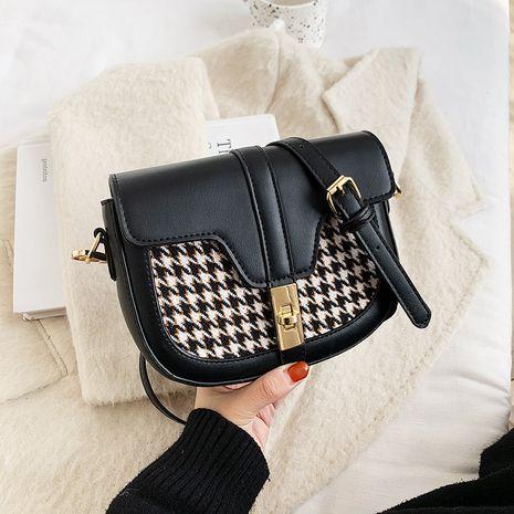 nuevo bolso de hombro de tela de lana NHJZ277033's discount tags