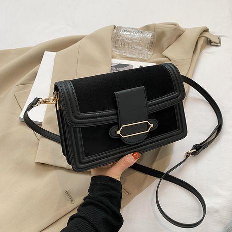 new retro fashion texture matte small square bag NHJZ277043's discount tags