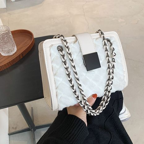 new trendy texture chain  all-match square bag NHJZ277049's discount tags