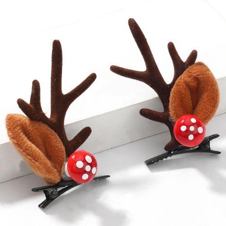Weihnachtspilz Flanell kleines Geweih Paar Chuck Haarnadel NHJE264746's discount tags