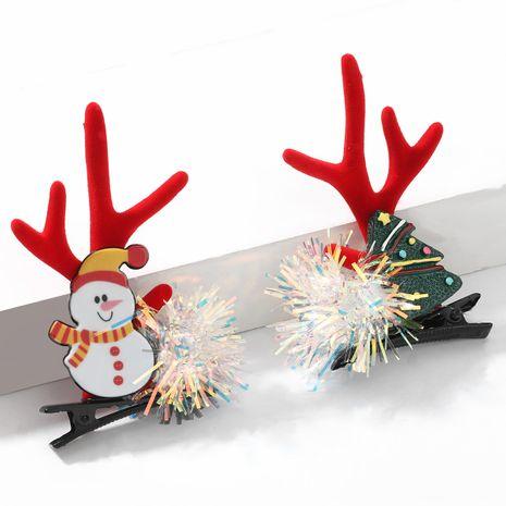 Weihnachtsfarbene Kugeln Flanell kleines Geweih Chuck Haarnadel NHJE264751's discount tags