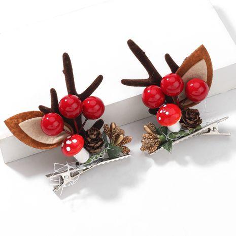 Christmas Pine Ball Flanell Kleines Geweih Paar Chuck Haarnadel NHJE264752's discount tags