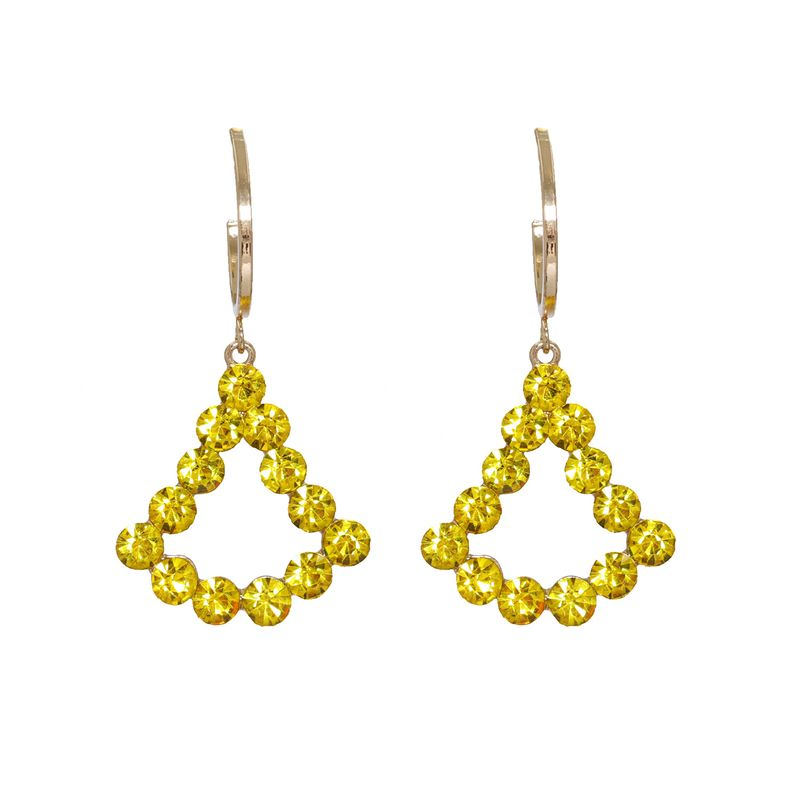 Korean  new fashion  geometric earrings  NHJJ264786
