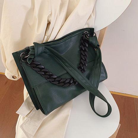 nuevo y moderno bolso bandolera suave de textura salvaje coreana NHJZ264857's discount tags