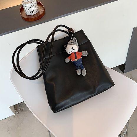 Koreanische einfache Mode Eimer Handtasche NHJZ264858's discount tags