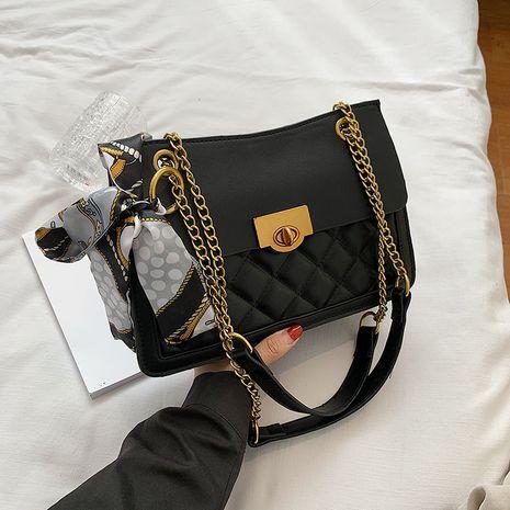 neue trendige Mode Diamant kleine quadratische Tasche wilde One-Shoulder-Achselhöhle Tasche NHJZ264864's discount tags