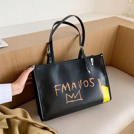 neue trendige Mode beliebte One-Shoulder-Einkaufstasche mit großer Kapazität NHJZ264871's discount tags