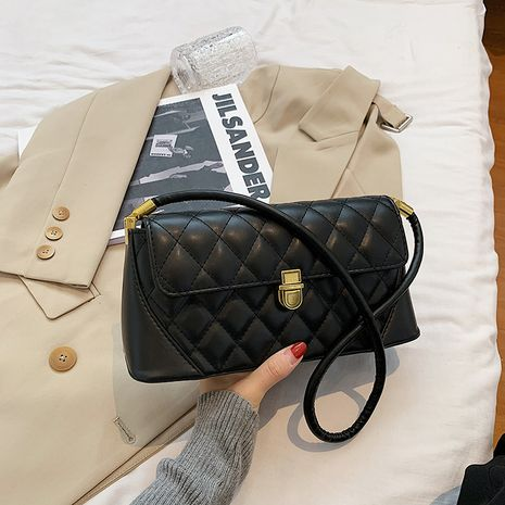 neue trendige Mode lässig Achsel kleine quadratische Tasche NHJZ264874's discount tags