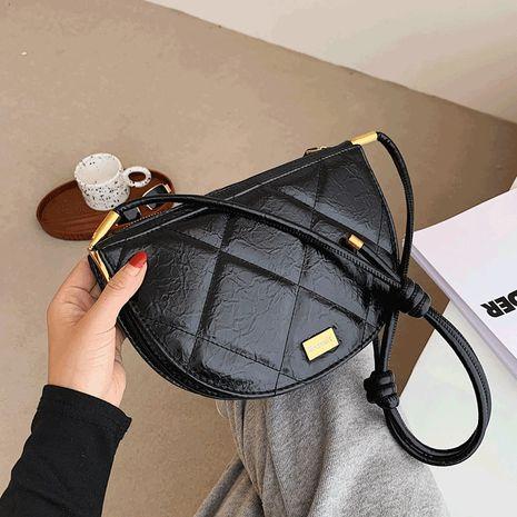 trendige modische rhombische All-Match-Satteltasche mit einer Schulter NHJZ264878's discount tags