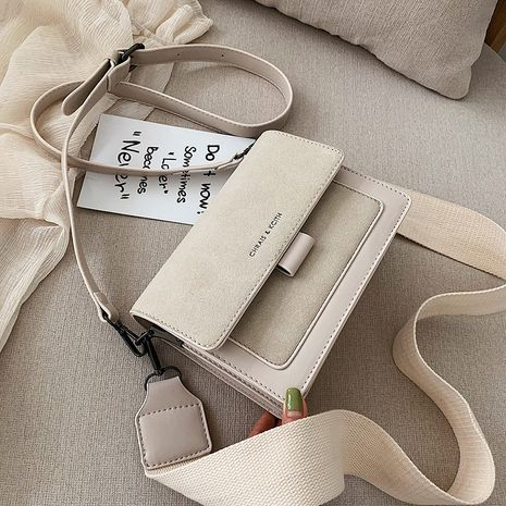 neue koreanische breite Schultergurt Mode wilde Schulter Umhängetasche NHLH264961's discount tags