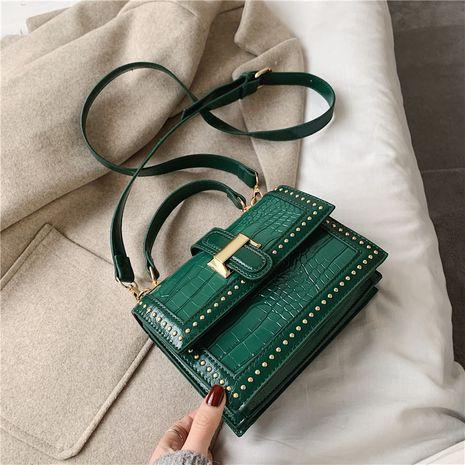 neue trendige koreanische wilde Textur Single Shoulder Messenger kleine quadratische Tasche NHLH264972's discount tags