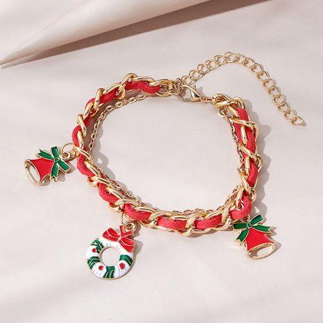 Bracelet cloche ligne tendance sauvage de Noël NHPS265018's discount tags