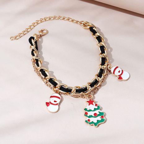 bracelet de poupée de neige arbre de Noël ligne tendance créative de mode NHPS265019's discount tags