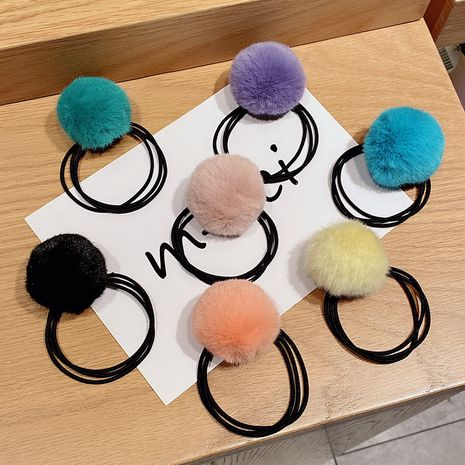 Korean simple  cute all-match hair rope  NHNA265128's discount tags