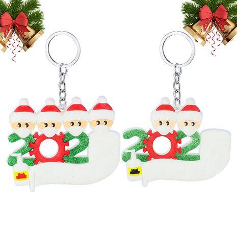 Porte-clés Père Noël en caoutchouc souple en PVC NHAP265234's discount tags