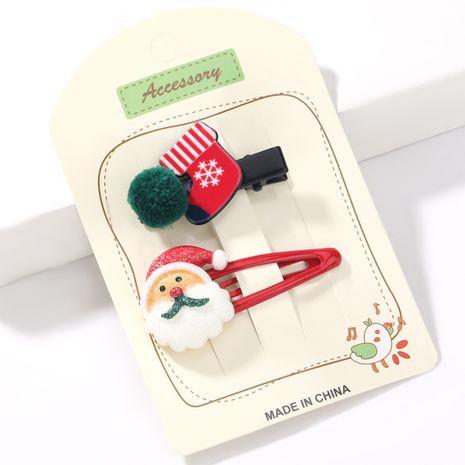 Ensemble de bottes de père Noël en résine de la série Christmas NHJE265243's discount tags