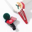 Christmas series resin Santa Claus boots bb clip set NHJE265243