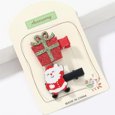 Ensemble d'épingles à cheveux de Noël Père Noël NHJE265244's discount tags