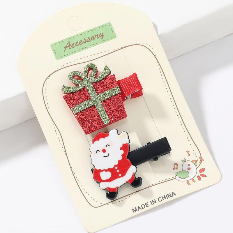 Christmas  Santa Claus  hairpin set  NHJE265244